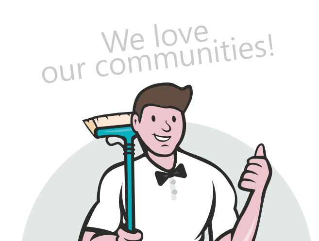 We love our communities